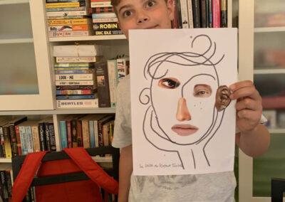 creativita e ritagli di giornale